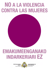Descárgate el punto lila como símbolo de rechazo a la violencia de género
