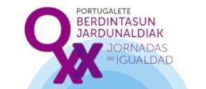 BANNER XX Jornadas de Igualdad Portugalete 2021